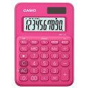 エディオン 楽天市場店で買える「カシオ カラフル電卓 ビビッドピンク MW-C8C-RD-N [MWC8CRDN]」の画像です。価格は541円になります。