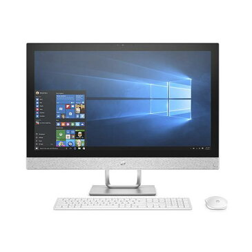 【送料無料】ヒューレット・パッカード(HP) 一体型デスクトップパソコン Pavilion 27 ブリザードホワイト 2NK96AA-AAAB [2NK96AAAAAB]【RNH】