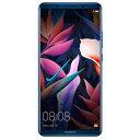 【送料無料】HUAWEI SIMフリースマートフォン Mate 10 Pro ミッドナイトブルー MATE10PRO/MIDNIGHTBLUE [MATE10PROMIDNIGHTBLUE]