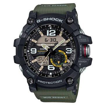 カシオ 腕時計 G-SHOCK MUDMASTER ブラック・ベルトモスグリーン GG-1000-1A3JF [GG10001A3JF]