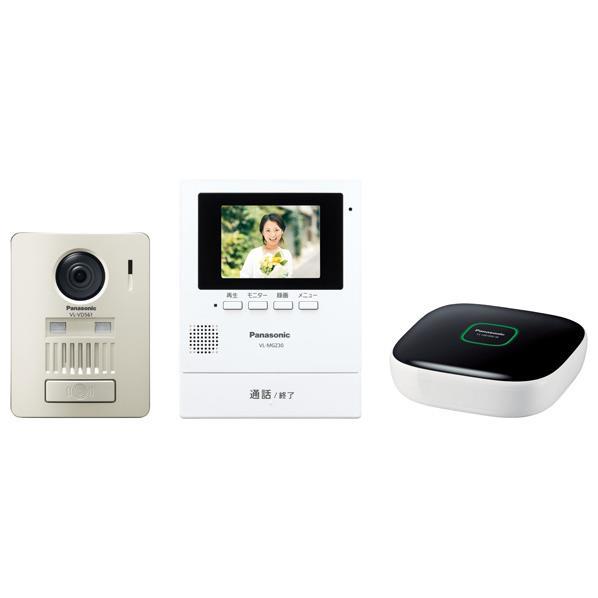 パナソニック モニター壁掛け式ワイヤレステレビドアホンキット VL-SGZ30K 1台