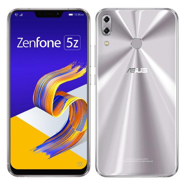 他ではできない体験を、再び。【送料無料】ASUS SIMフリースマートフォン Zenfone 5Z スペースシ...