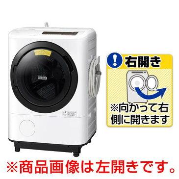 日立 【右開き】12.0kgドラム式洗濯乾燥機 オリジナル ビッグドラム ホワイト BD-NV120CE6R W [BDNV120CE6RW]【RNH】【MAYMP】