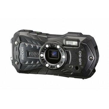 リコー デジタルカメラ ブラック WG-60BK [WG60BK]【RNH】