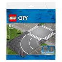 レゴジャパン LEGO シティ 60237 ロードプレート カーブと交差点 60237ロ-ドプレ-トカ-ブトコウサテン [60237ロ-ドプレ-トカ-ブトコウサテン]