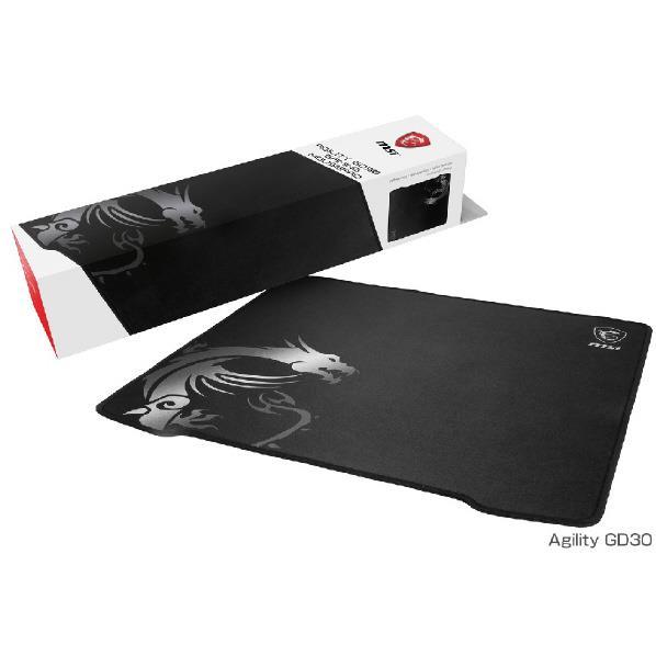 MSI Agility GD30 ゲーミングマウスパッド 450mm × 400mm MS367