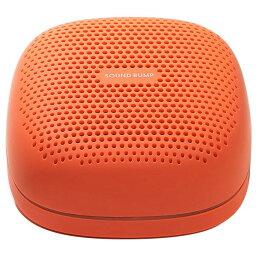 ラディウス ワイヤレススピーカー SOUND BUMP オレンジ SP-S10BTT [SPS10BTT]