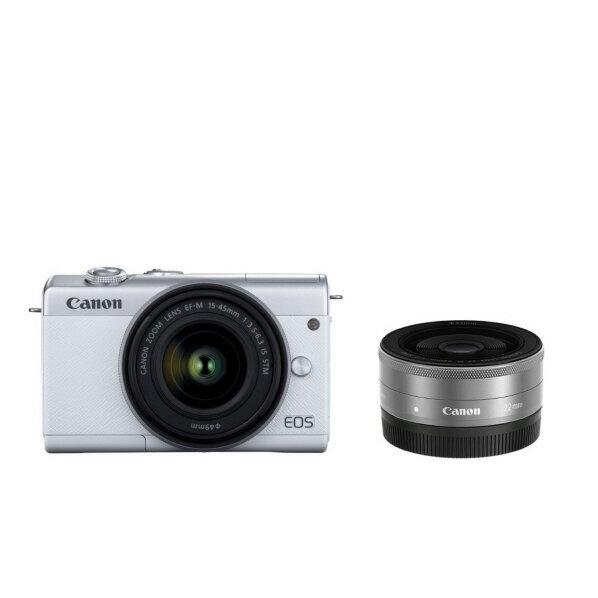 デジタルカメラ, デジタル一眼レフカメラ  EOS M200 EOSM200WHWLK EOSM200WHWLKRNH