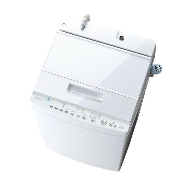 東芝 8.0kg全自動洗濯機 ZABOON グランホワイト AW-8D9(W) [AW8D9W]【RNH】