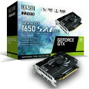 ELSA グラフィックカード GeForce GTX 1650 GD1650-4GERSD6 [GD16504GERSD6]【JYMP】