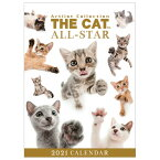 わくわく製作所 カレンダー 2021年版 卓上 THE CAT ALL STAR 2021CL1244タクジヨウキヤツトオ-ルスタ [2021CL1244タクジヨウキヤツトオ-ルスタ]