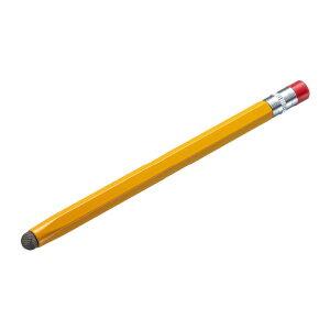 懐かしい鉛筆のようなデザインの導電繊維タッチペン