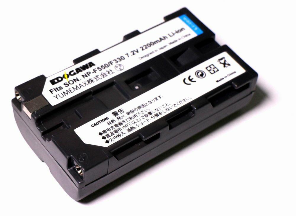 デジタルカメラ用アクセサリー, バッテリーパック EDOGAWA SONY NP-F550F330 (ED-BAT)
