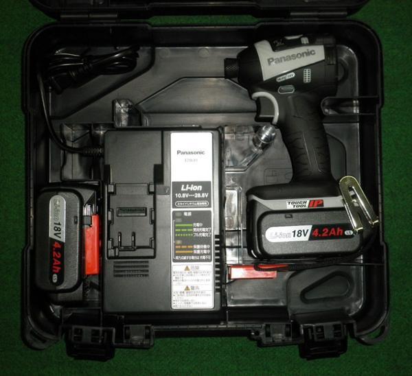 パナソニック 18Vデュアルインパクトドライバ EZ75A7LS2G-H グレー 新品:プロショップE-道具館