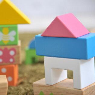 知育玩具/木製玩具/木のおもちゃ/出産祝い/誕生日/1歳/積み木/つみき/積木/ブロック