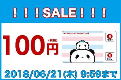 【100円(税抜)セール】お買いものパンダ【2018年06月21日09時59分まで】