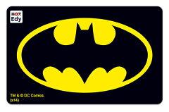 〜Edyの支払いで楽天スーパーポイントが貯まる〜『バットマン』がデザインされたEdyカードキャ...