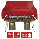 コールマン アウトドア キャンプ BBQ パワーハウス(R) LP ツーバーナーストーブ II レッド ※LPガス別売 2000021950 Coleman ※1点までの販売
