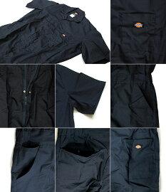 Dickiesディッキーズ半袖ツナギ33999ビッグサイズカバーオール半袖つなぎツナギSHORTSLEEVECOVERALL【5250円以上で送料無料・メール便不可・メンズ】10P22Jul11
