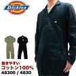 【2枚以上で送料無料】 Dickies ディッキーズ つなぎ 48300 長袖つなぎ ツナギ 02P03Dec16