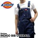 ディッキーズ Dickies オーバーオール デニム INDIGO BIB OVERALL 83294 作業着 仕事着 作業服 ユニフォーム 男性用 メンズ つなぎ・・・