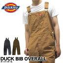 ディッキーズ Dickies オーバーオール ダック DUCK BIB OVERALL DB100 作業着 仕事着 作業服 ユニフォーム 男性用 メンズ つなぎ・・・