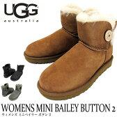 UGG ムートンブーツ 2016秋冬新作 WOMENS MINI BAILEY BUTTON II アグ オーストラリア ミニベイリーボタン2 レディース 1016422 02P03Dec16