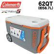 送料無料 コールマン COLEMAN クーラーボックス 62QT 3000004485 エクストリーム クーラーボックス 大容量58.7L XTREME COOLERS BOX アウトドア キャンプ 運動会 釣り フィッシング メール便不可 02P03Dec16