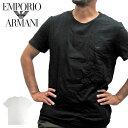 【1点までメール便送料無料】アルマーニ tシャツ エンポリオアルマーニ EMPORIO ARMANI クルーネック Tシャツ