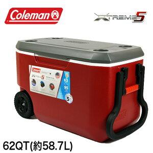コールマン COLEMAN クーラーボックス 62QT 3000005890 エクストリーム クーラーボックス 大型 大容量58.7L XTREME COOLERS BOX アウトドア キャンプ 運動会 釣り フィッシング