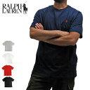 【メール便対応】POLO RALPH LAUREN ポロラルフローレン Tシャツ 半袖Tシャツ 674984 ONEPOINT CREW S/S TEE ワンポイント クルーネック 半袖Tシャツ