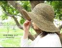 [レビューを書いてメール便送料無料]麦わら帽子 (つば広) ニューヨークハット ツバ広 ストロー...