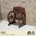 ガーデンチェア・ベンチ Duke Wheel Bench 65