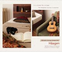 【送料無料】【シングル】【高密度アドバンスポケットコイル】Haagenすのこベッドすのこベッド棚付コンセント付幅102cm北欧柔らかい寝具おすすめオシャレベッドコンセント】ベット【後払い可】