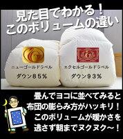 エクセルゴールドラベル付羽毛掛・防ダニ敷・枕・と日本製カバー3点と今治産タオルケットと京都西川綿敷パッドの8点セット