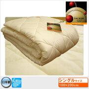 日本製★洗える素材インビスタダクロンホロフィルベッドパッド