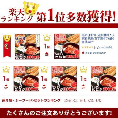 敬老の日ギフト送料無料!国産うなぎ蒲焼き2枚・お祝い・還暦喜寿[Gset]BOXあす楽2