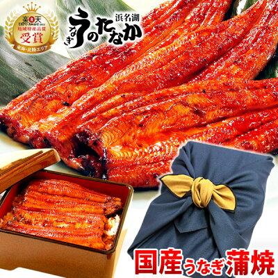 【送料無料】鰻蒲焼きギフト・プレゼントお祝い誕生日風呂敷・GIFT[うなぎのたなかF1001