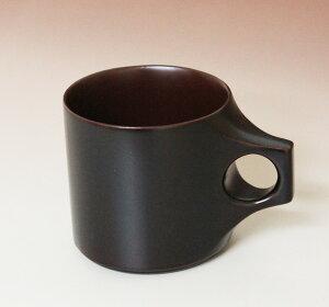 木製、うるし塗りのマグカップです。陶器のように熱くならず、口当たりもやさしいです。木曽塗...