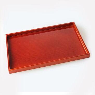 【売り切れ御免・訳あり】木製 長角膳(長手盆) 紀州春慶塗 36cm (日本製 国産 トレイ お盆 トレー )