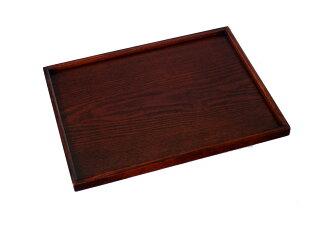 賣木製托盤長角食案標準36cm,塗(托盤,盤,會席套餐,午餐墊子,咖啡廳,北歐,業務用)(木製的托盤,盤托盤,盤托盤,托盤咖啡廳,托盤北歐,家族的托盤盤)