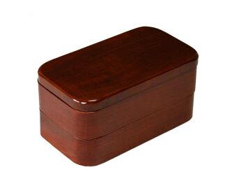 會津漆器空的午餐盒江戶上演 001-795 脫皮 (木盒時尚便當便當盒女子雙人便當盒男士便當盒孩子便當盒體育便當盒)