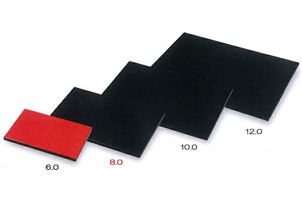 Wood 8. 0 Longhorn plate black / Vermillion 001-1016 (flower stand, flower stand) fs2gm