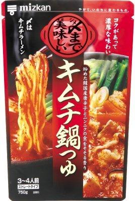 ミツカン 〆まで美味しいキムチ鍋つゆ ストレート 750g×12袋