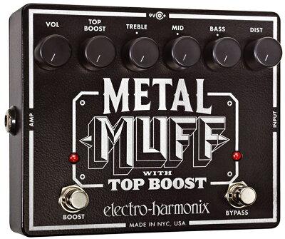 凶暴で邪悪なメタルサウンド!【レビューを書いて送料無料】Electro Harmonix Metal Muff エフ...