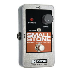 フェイザーの名機!【レビューを書いて送料無料】Electro Harmonix Nano Small Stone エフェク...