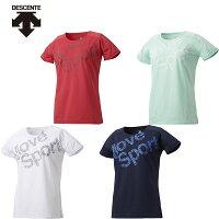 【メール便OK】DESCENTE(デサント)DMWNJA57レディースTシャツ吸汗速乾ストレッチMOVESPORT