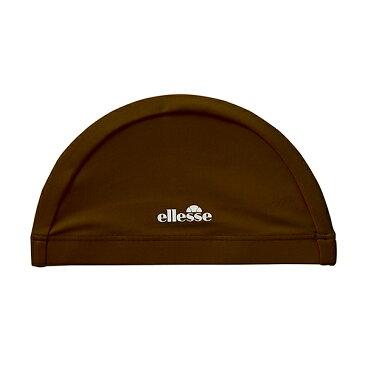 【54%OFF】 ellesse(エレッセ) メンズ レディース スイムキャップ 水泳帽子 ES99780 BR(ブラウン)