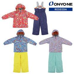 ONYONERESEEDA(オンヨネレセーダ)RES52004スキーウェアキッズ上下セット幼児小学生90100110120サイズ