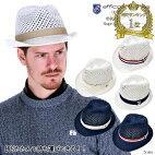 ゴルフ帽子初!バックに畳んで入る!形状記憶ローゲージハット【efficace-homme】エフィカスオムメンズゴルフウェア